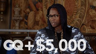 2 Chainz Checks Out a Bulletproof Suit | Most Expensivest Sh*t | GQ
