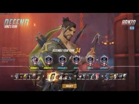 Casuals With A Friend  Overwatch Gameplay footage TheMunkyAvidExpert