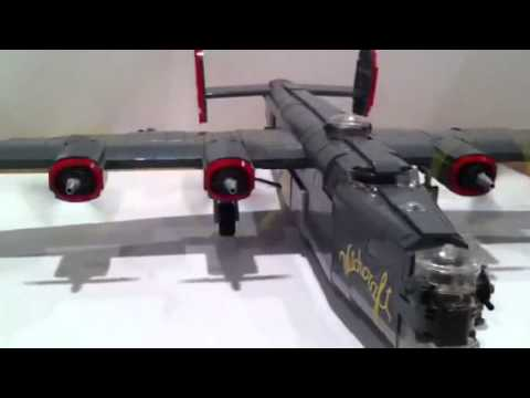 "Lego Consolidated B-24 Liberator - ""Witchcraft"""
