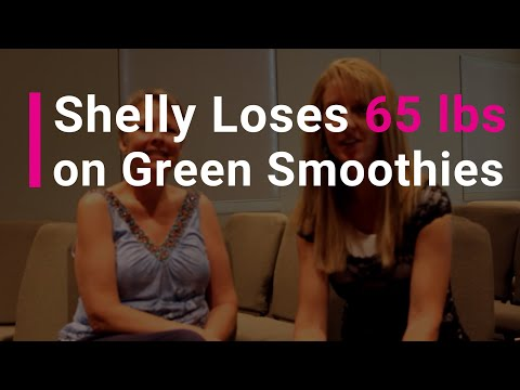 Cancer Survivor Shelly Loses 65 lbs on Green Smoothies!
