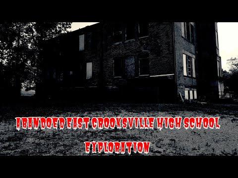 Abandoned East Crooksville High School Exploration