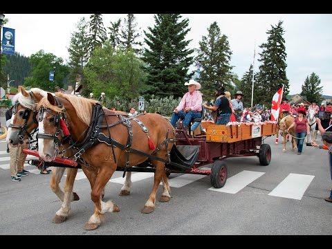 Jasper Canada Day Parade 2016