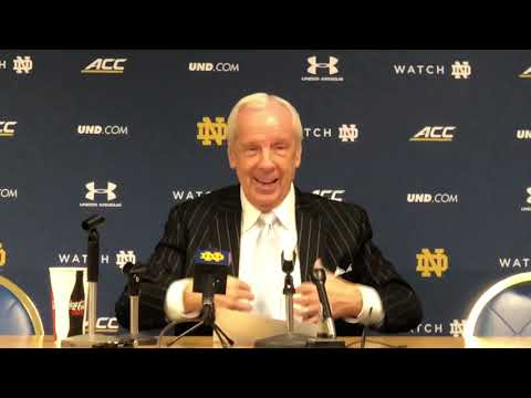 UNC-ND: Roy Williams Postgame