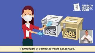 Capacitación para Vocales de Mesas Receptoras de Sufragios video 4