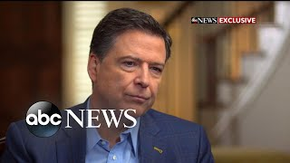 new revelations from fired fbi director in exclusive interview