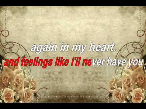 Feelings - Karaoke music