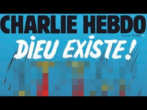 Charlie Hebdo's Controversial Hurricane Harvey Issue Cover
