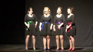 lipstick n heels quartet sweet adelines regional contest 2013 new zealand