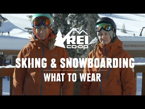 What To Wear Skiing And Snowboarding || REI