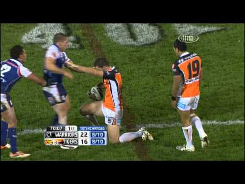 15 minutes of Madness NRL 2011 Wests tigers comeback against NZ Warriors