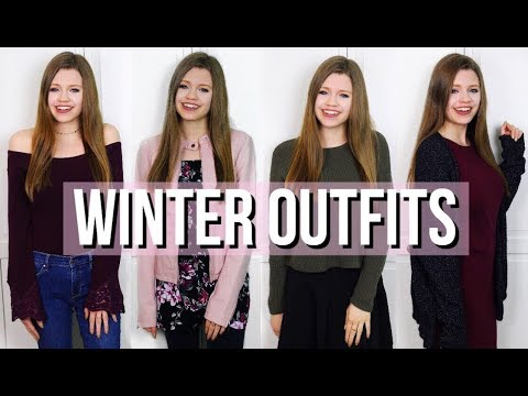 [VIDEO] - Winter Lookbook 2018 - 4 Outfit Ideas for Winter! 4