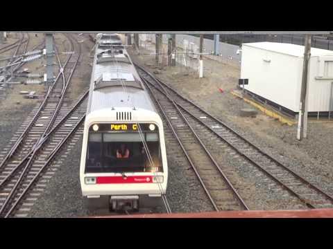 Passenger Trains In Perth, Western Australia 2017