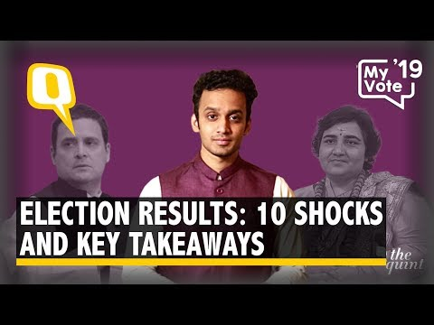 Election Results | Rahul Loses, Pragya Wins: 10 Shocks and Key Takeaways in 4 Minutes | The Quint