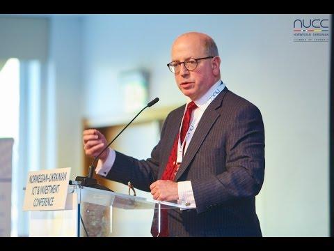 James Sherr at Norwegian-Ukrainian ICT & Investment Conference, Oslo, Nov 11, 2015