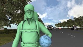 Man dribbling soccer ball to Brazil for 2014 World Cup dies
