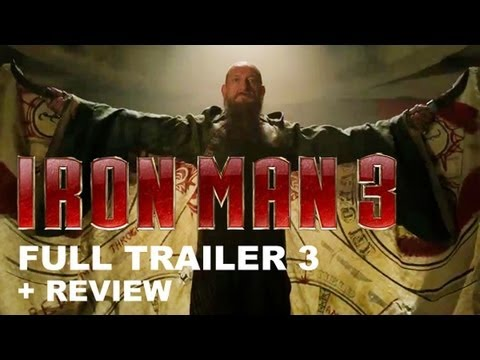 Iron Man 3 Official Trailer 3 2013 + Trailer 3 Review : HD PLUS