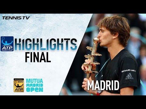 Highlights: Sascha Streaks To Madrid 2018 Title