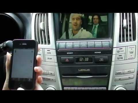 Дружба между iPhone и Lexus