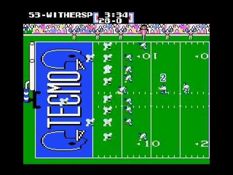 NES Tecmo Super Bowl 2010 - Tennessee Titans - Week 15 2/2
