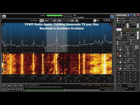 Trans Atlantic MW DX Radio Panamericana and Radio Apolo Received In Scotland