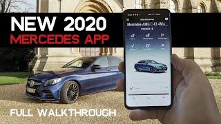 ALL NEW 2020 Mercedes Me App full walkthrough screenshot 3