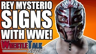 Rey Mysterio SIGNS WWE RETURN! Pentagon Jr To WWE Rumor Killer! | WrestleTalk News Sept. 2018
