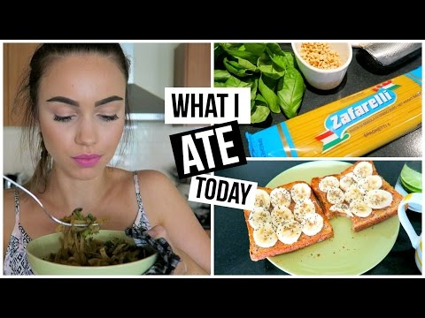 What I Ate Today #1 // Healthy Vegetarian Meals