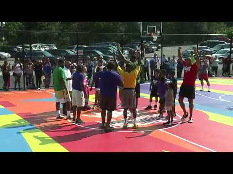 None - LeBron Unveils Upgrades At I Promise School