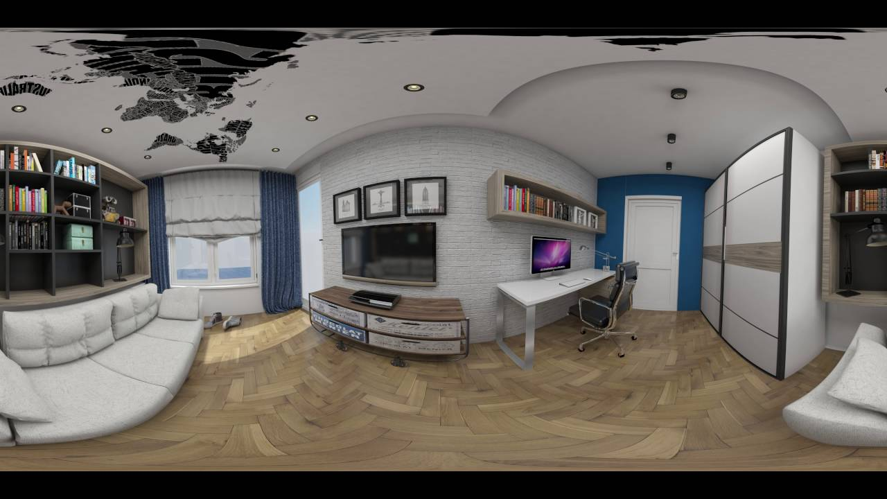 Bedroom interior render 360 view youtube for House 360 view