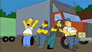 I Always Wanted To Be A Teamster (The Simpsons)