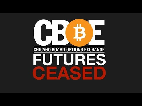 BREAKING | CBOE PULLS THE PLUG ON BITCOIN FUTURES | POSSIBLE BULL-RUN SIGN?!?