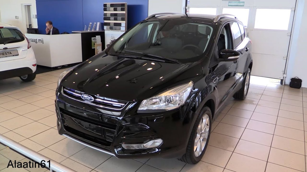 ford kuga 2016 in depth review interior exterior youtube. Black Bedroom Furniture Sets. Home Design Ideas