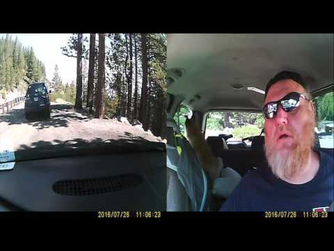 Traveling From Reno to Lake Tahoe with PRIVATE PLATES