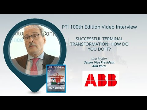 PTI 100th Edition Interviews: ABB Ports