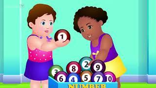 Номер Песни - Учиться Считать От 1 До 10 - Число Рифм Для Детей