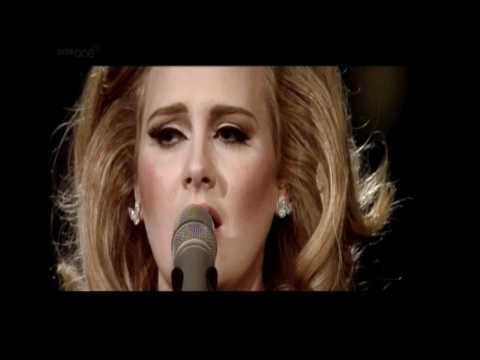 Adele at The Royal Albert Hall - Make You Feel My Love