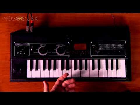 Nova Musik - Korg microKORG XL+ with Rich Formidoni