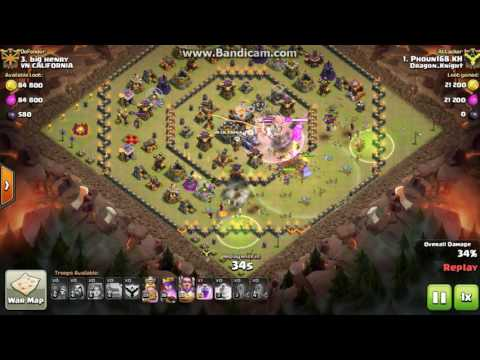 Clash of Clans cland DRagon_KNigHt town 11 vs town11