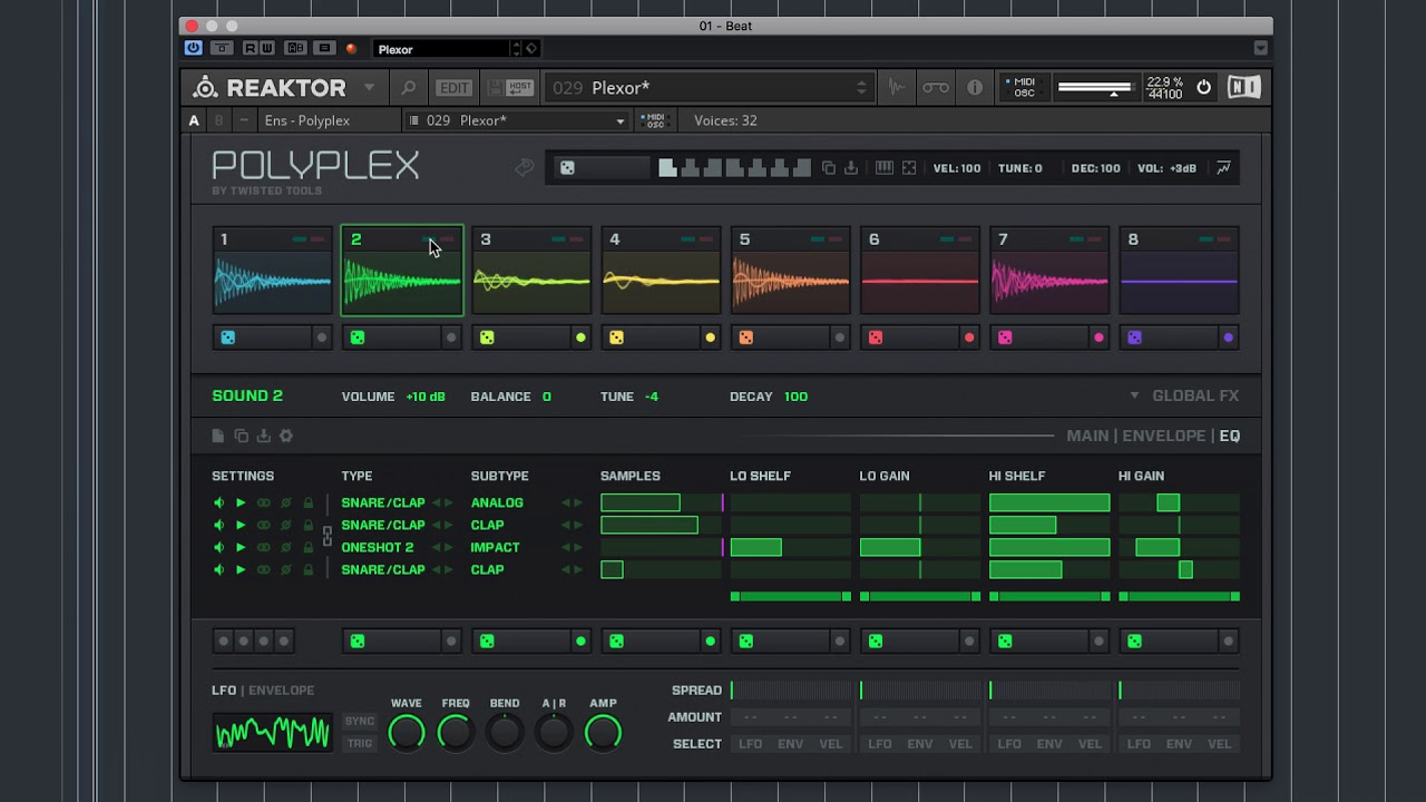 How to:  Making techno using Polyplex