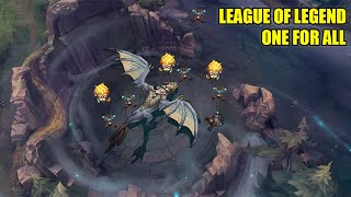 League Of Legends funny moments (one for all)