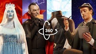 Sherlock vs Dracula epic fight in 360° | Inside your PocketBook | VR | 4K