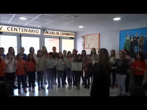 coro día del libro 2016