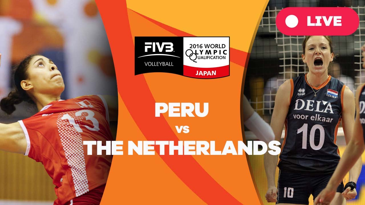 Peru v Netherlands - 2016 Women's World Olympic Qualification Tournament