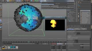 Уроки Cinema 4D:Урок КЛЕТКА часть 2 Cinema 4D