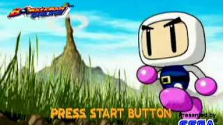 Bomberman Online - Normal Game Intro + Stage 1-1