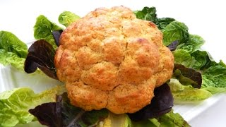 WHOLE BAKED CAULIFLOWER - Inspire To Cook