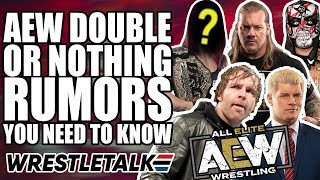 EVERY AEW Double Or Nothing Rumor, Return & Surprise!   WrestleTalk