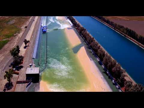 Kelly Slater's Wave Pool - Drone View