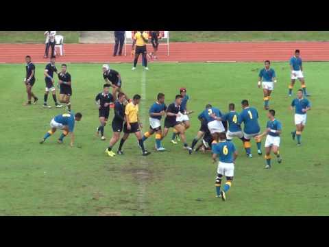 Rugby Final 2016 U19  ระหว่าง ภปร ราชวิทยาลัย กับ วชิราวุธ วิทยาลัย