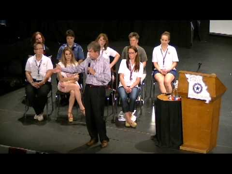 Roy Blunt: Missouri Girls State Speech Pt. 3